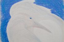 White Raven Cradles the Moon